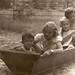 1957. Balatoni nyár. Hajónkban a nagylányokkal by elinor04 thanks for 22,000,000+ views!