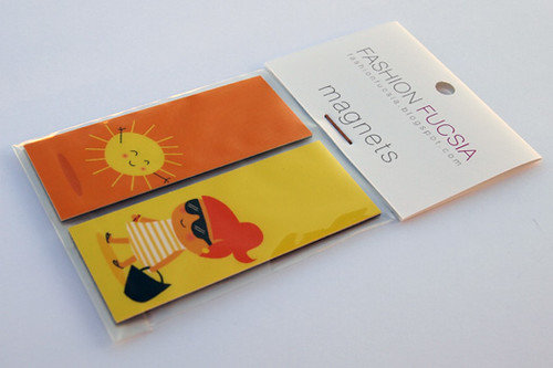 Sunny Magnets - packaging