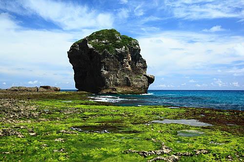 7T73墾丁船帆石-珊瑚礁岩