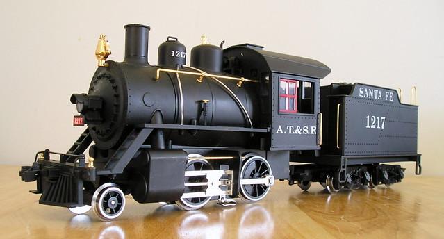 LGB Santa Fe 2-4-0 Steam Loco - a photo on Flickriver  |Lgb Engine Cow