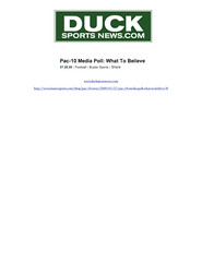 07.26.09 - DuckSportsNews.com