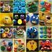Sesame Street Cupcakes by www.bakelovegive.com