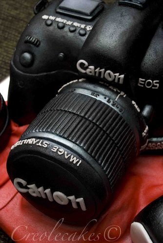 Canon DSLR Cake