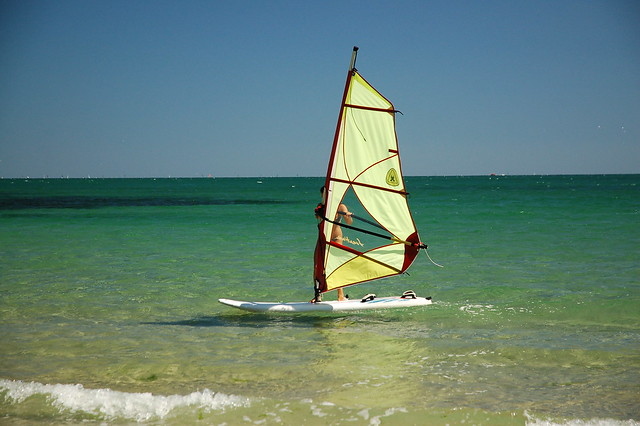 Windsurfing in Varna