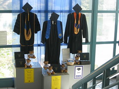 Graduation gowns at UCSB