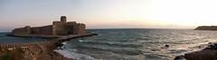 Panoramica del castello di Le Castella, Isola di Capo Rizzuto - Crotone - Calabria - Italy