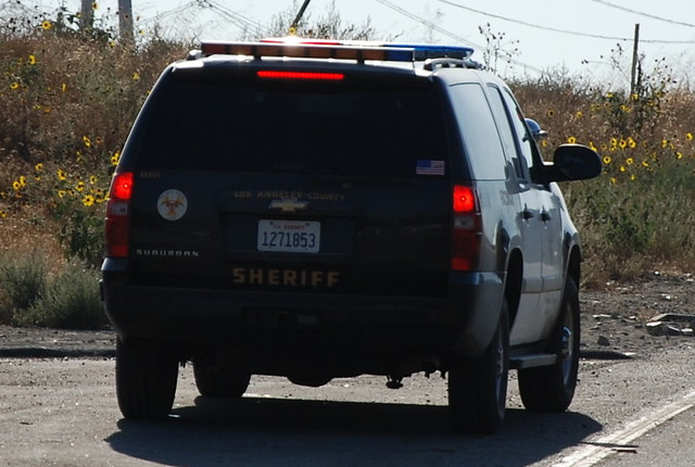 LOS ANGELES COUNTY SHERIFF DEPARTMENT (LASD) - CHEVY SUBURBAN