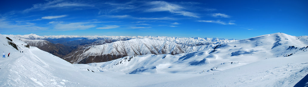 Cardrona - Panorama - Southern Alps - South Island - New Zealand
