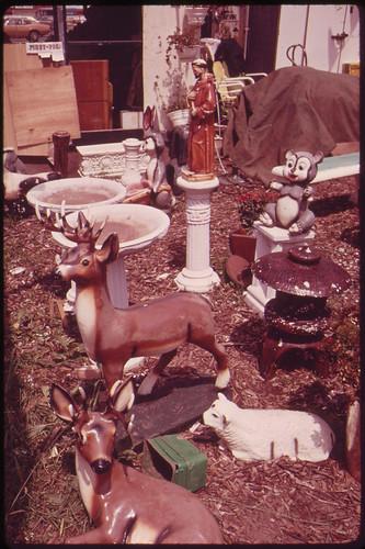 Garden Accessories for Sale on Hylan Boulevard in Staten Island 06/1973