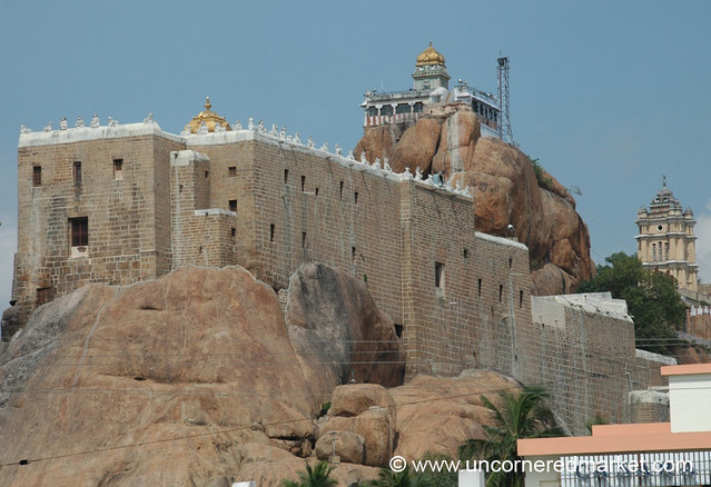Rock Fort Temple: Trichy, India