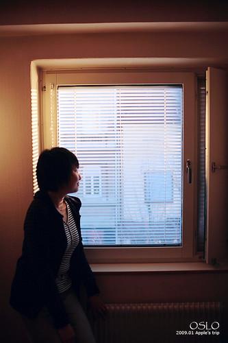 荷花小朋友~我们住的房间窗户