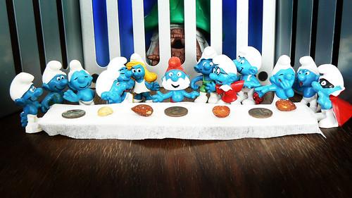 The Smurf Supper (Dan Brown da Vinci Code Remix)