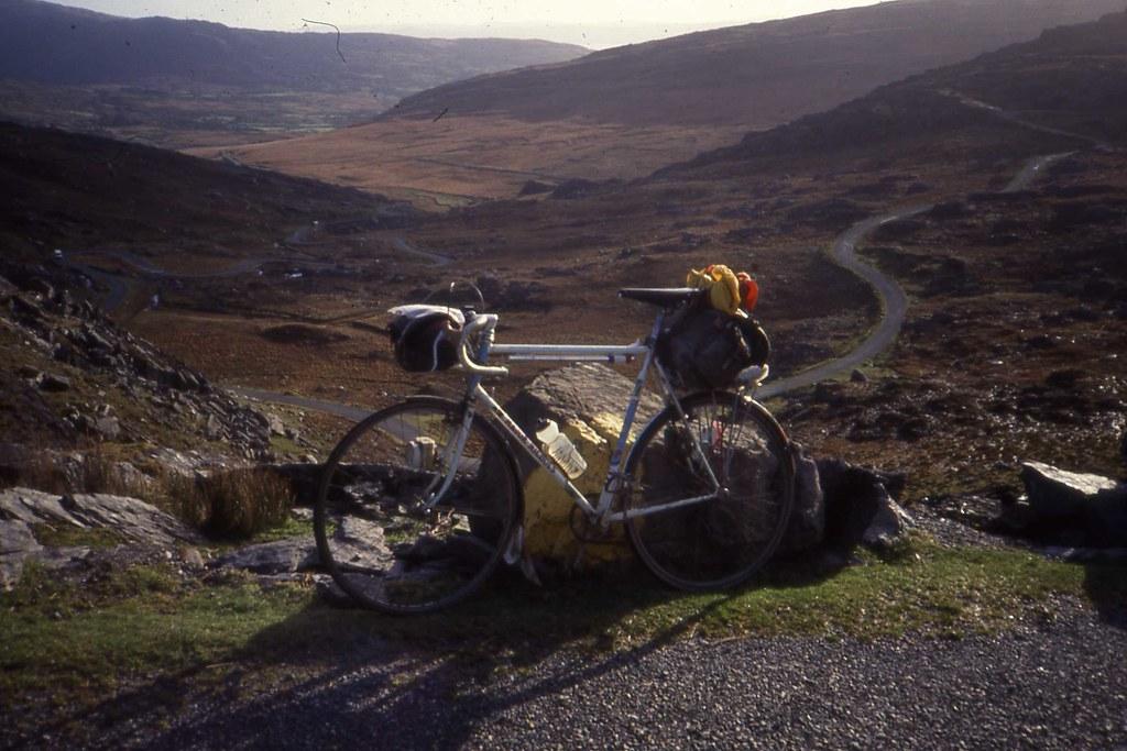 Healy Pass, South Side, Beara Peninsula .Co. Cork. 16 November 1991
