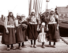 Marken Girls, Marken, Netherlands