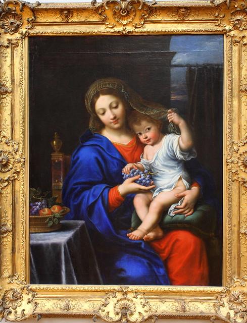 Pierre MIGNARD, La Vierge à la grappe, vers 1640 - 1650 ?