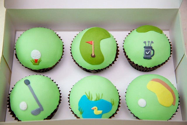 Golf R 0 60 >> Golf Themed Cupcakes | Flickr - Photo Sharing!