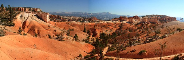 Stitched shot of Bryce Canyon from Sunrise Point