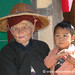 Burmese Grandmother and Grandson - Kalaw, Burma