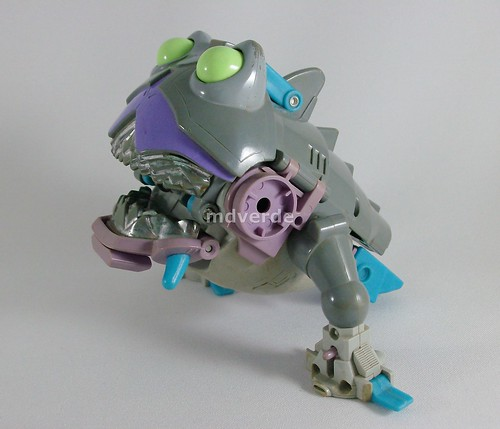 Transformers Gnaw (Sharkticon) G1 - modo alterno