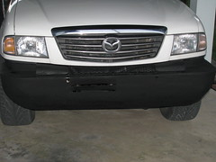 Mazda B2500 Turbodiesel Brush Bumper: Completed
