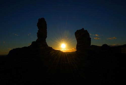 sunset españa contraluz atardecer dawn spain nikon ruins ruinas aracena d60 nikond60