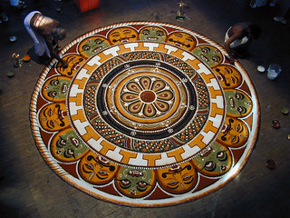 L'art du Kalam (Inde du sud)