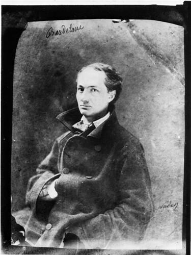 Charles Baudelaire, 1855 - por Nadar.