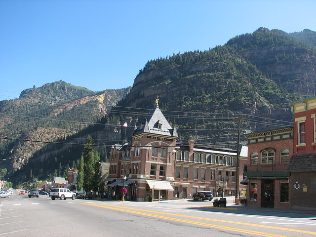 downtown ouray colorado flickr photo sharing