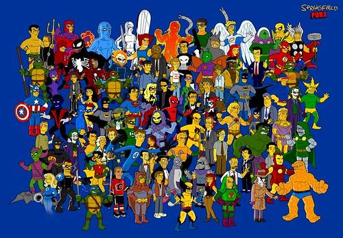 heroes-simpsons