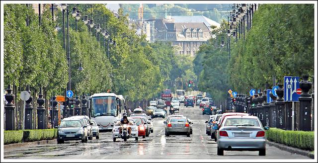 Andrássy út. Budapest. Hungary