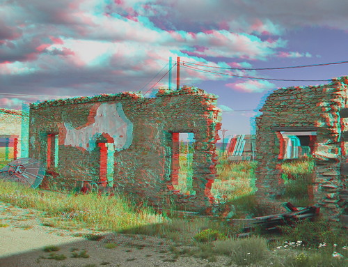 como architecture canon geotagged 3d ruins colorado stones decay anaglyph stereo rubble mapped twincam redcyan sx110is