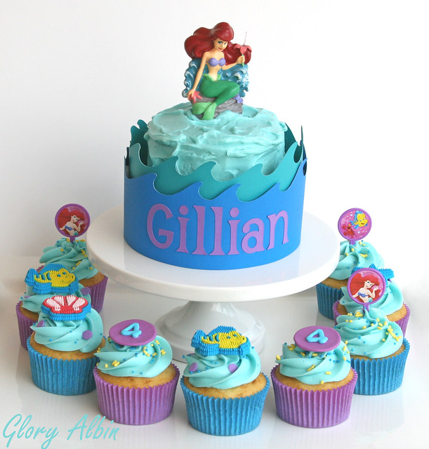 Little Mermaid Birthday Cakes  Flickr - Photo Sharing!