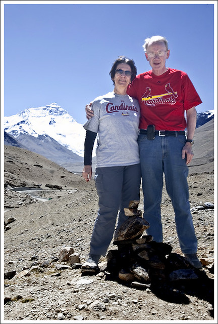 Cardinals Fans At Everest Base Camp