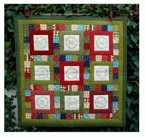 A Christmas Wish Quilt -Gail Pan