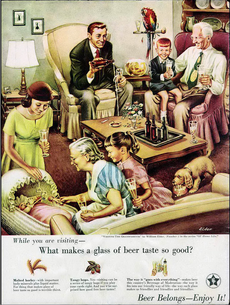 Visiting the Grandparents by William Elder, a Mad Magazine spoof