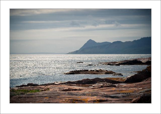 Holy Isle from Merkley Point