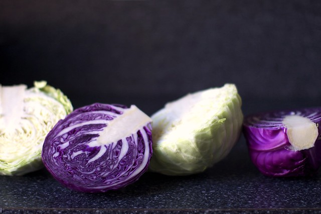 red and green cabbage | Flickr - Photo Sharing!