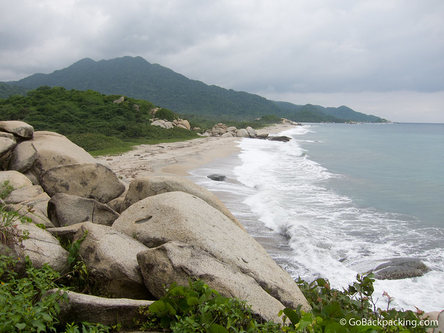 The beaches of Parque Tayrona