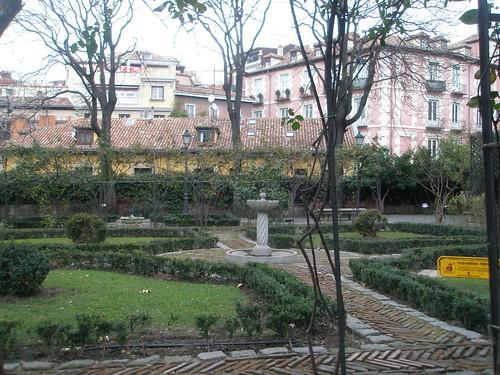 Jardín Príncipe de Anglona, La Latina. Madrid