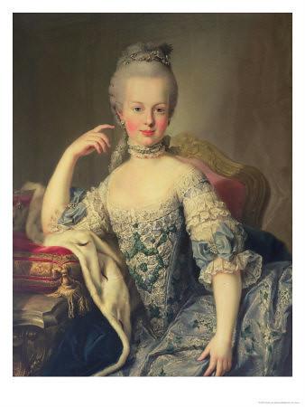 Marie - Antoinette jeune