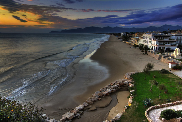 Sperlonga landscape, the beach