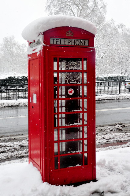 Red London Telephone Box Flickr Photo Sharing