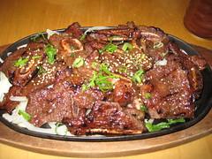 meal, goat meat, galbi, food, dish, bulgogi, cuisine,