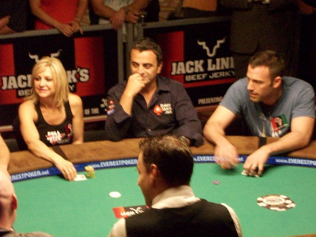 Ben Affleck - World Series of Poker celebrity poker tournament - Rio Casino, Las Vegas