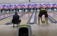 maybe grandma bowling style will work...?