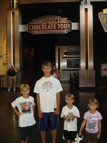 Hershey Chocolate Factory, Pennsylvania