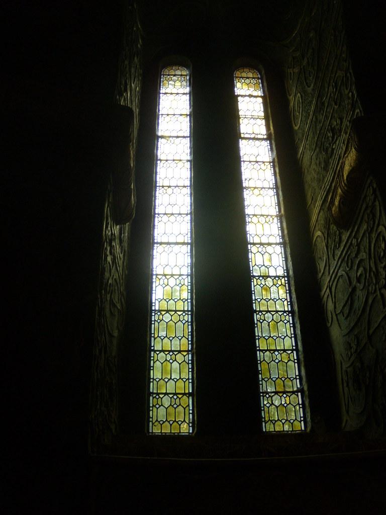 Window Wanborough to Godalming Watts Chapel. Compton.