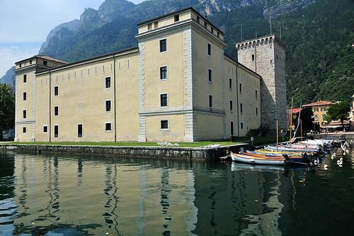 Water castle Riva del Garda