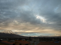 Peru Travel: Clouds over El Misti, Arequipa