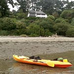 Kayak Break on Bar Beach